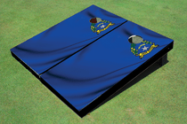 Nevada State Flag Custom Cornhole Board