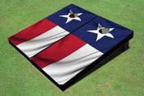 Texas State Flag Custom Cornhole Board