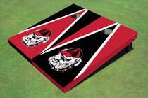 "University Of Georgia ""Hairy Dawg"" Alternating Triangle Cornhole Boards"