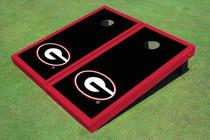 "University Of Georgia ""G"" Red Matching Border Cornhole Boards"