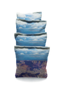 4 Grand Canyon Sun Rise Custom Cornhole Bags