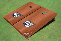 Georgia Southern University Solid Rosewood Cornhole Boards