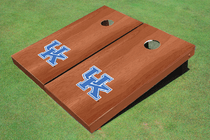 University Of Kentucky Solid Rosewood Custom Cornhole Board