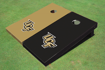 University Of Central Florida Alternating Solid Custom Cornhole Board