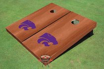 Kansas State University Solid Rosewood Cornhole Board
