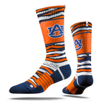 Auburn University Bengal Tiger  Strapped Fit 2.0 Socks