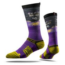 Louisiana State University Death Valley  Collegiate Socks