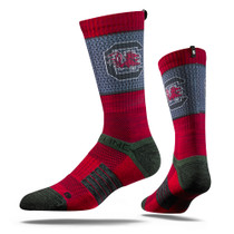 University of South Carolina Maroon Gamecock  Strapped Fit 2.0 Socks