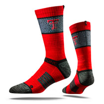 Texas Tech University Red Heather  Collegiate Socks
