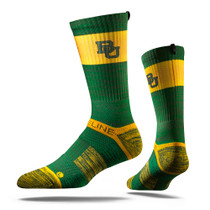 Baylor Green Bear Collegiate Strapped Fit 2.0 Socks