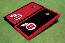 University Of Utah 'U' Alternating Border Cornhole Boards