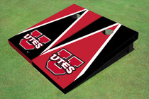 University Of Utah 'UTES' Alternating Triangle Cornhole Boards