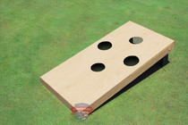Single Non Painted 4 Hole Custom Cornhole Board