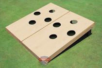Non Painted 4 Hole Custom Cornhole Board