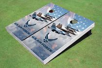 Four Jet Air Force Custom Cornhole Board