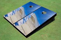 Wing Over Paradise Reef Custom Cornhole Board