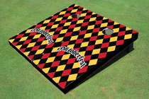 Oktoberfest Black Cornhole Board Set