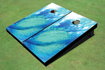 Big Wave Custom Cornhole Board