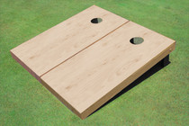 Unfinished Cornhole Boards With A Polyurethane Sealant On Top