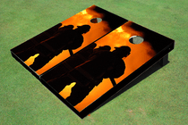 Fire Fighter 1 Custom Cornhole Board