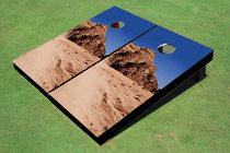 Desert Rock Custom Cornhole Board