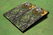 Camo Scope Custom Cornhole Board