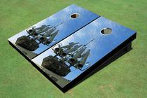 Ballistics Custom Cornhole Board