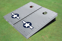 Rivet Air #2 Force Custom Cornhole Board