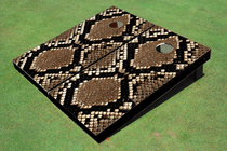Rattle Snake Skin Custom Cornhole Board