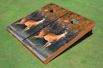 Deer Wood Cornhole Board Set