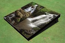 Water Fall Custom Cornhole Board