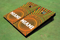 Miami Lover Cornhole Board Set
