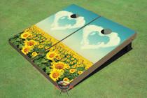 Field Of Love Custom Cornhole Board