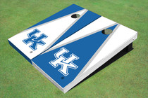 University Of Kentucky Alternating Triangle Custom Cornhole Board