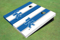 University Of Kentucky Alternating Long Stripe Custom Cornhole Board