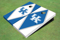 University Of Kentucky Alternating Diamond Custom Cornhole Board
