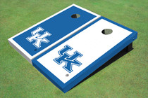 University Of Kentucky Alternating Border Custom Cornhole Board