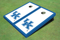 University Of Kentucky Blue Matching Border Custom Cornhole Board
