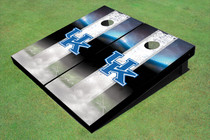 University Of Kentucky Field Matching White Long Strip Custom Cornhole Board