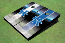 University Of Kentucky Field Alternating Long Strip Custom Cornhole Board
