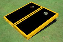Black And Yellow Matching Border Set
