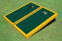 Green And Yellow Matching Border Set