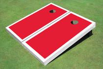 Crimson And White Matching Border Set