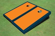 Orange And Navy Matching Border Set