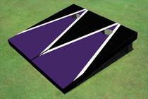 Purple And Black Matching Triangle Set