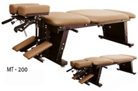 New MT Tables - MT 200 - INLCUDES CERVICAL, THORACIC, AND PELVIC DROPS