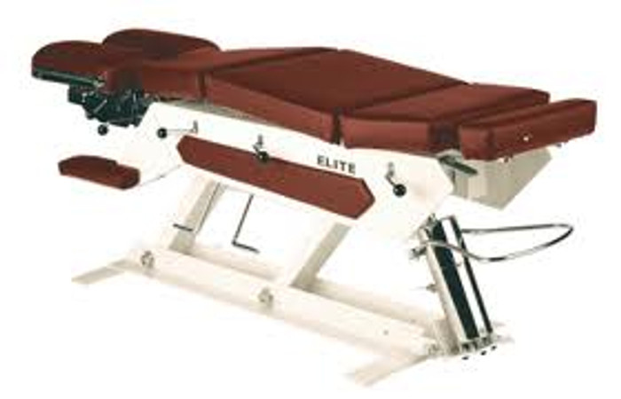 New Elite Manual Pump Elevation Chiropractic Table
