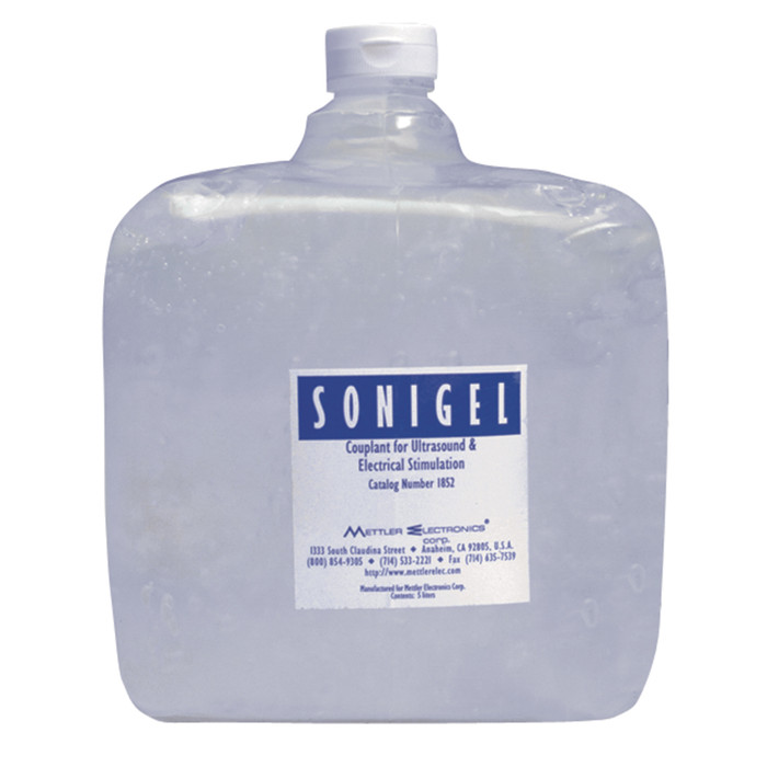 SONIGEL COUPLANT -- CLEAR GEL, 5-L CONTAINER