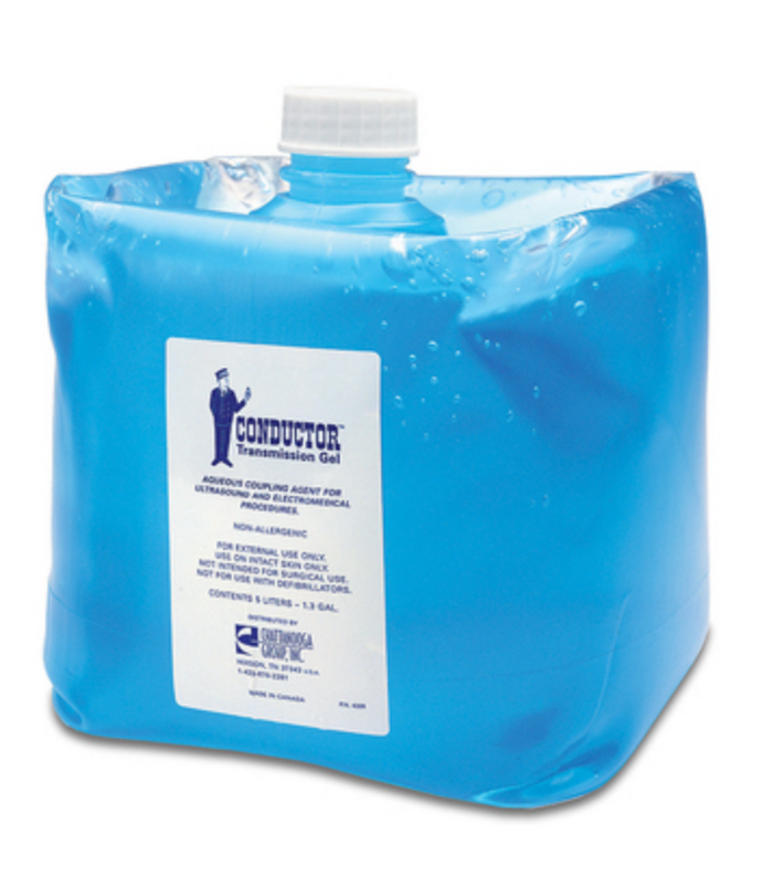 CONDUCTOR(TM) TRANSMISSION GEL, 5-LITER CONTAINER (1.3 GALLON)