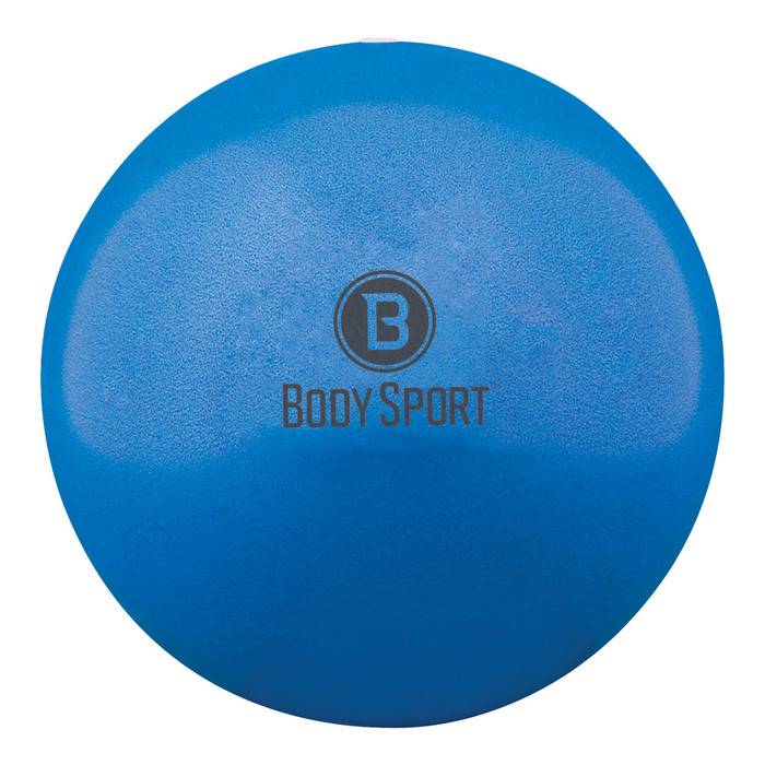 "BODY SPORT FUSION BALL FITNESS BALL, BLUE, INFLATES 7 1/2""-10"""